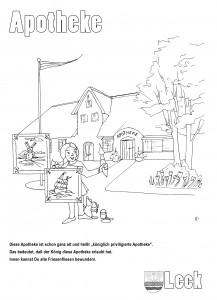 malbuch für Leck und Niebüll, Sonja Jannichsen