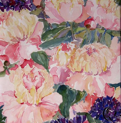 aquarellbild-bauernrosen-sonja jannichsen