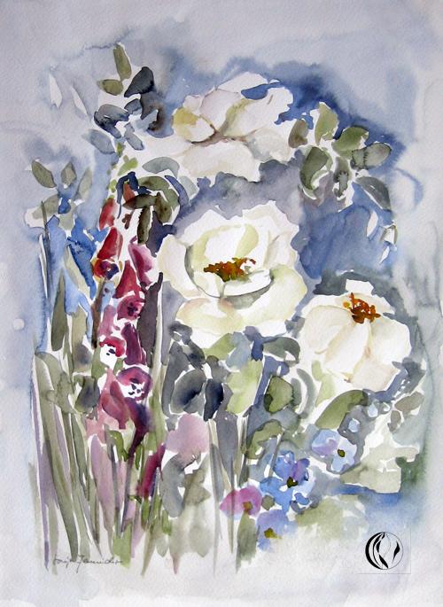 aquarellbild-negativmalerei-rosen-weiss