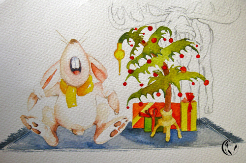Weihnachten – Illustration