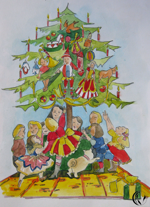 Weihnachten 2014 – Illustration