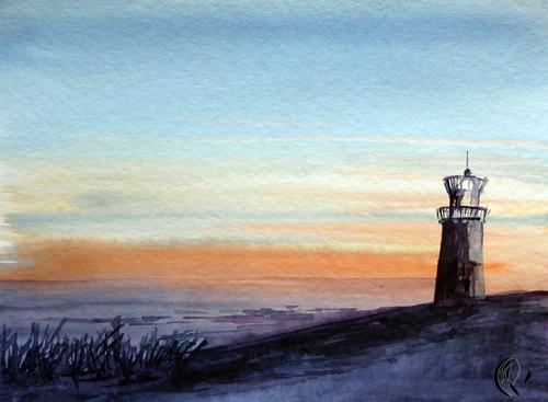 malen_am_meer_sylt_leuchtturm_aquarell