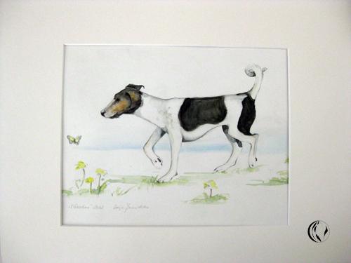 malen_am_meer_zeichnung_hund_jack_russel_rettier
