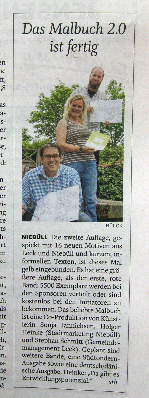 Malbuch – Presse NF-Tageblatt