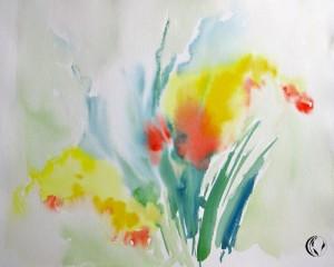 malen_am_meer_gelb_aquarell_farbenrausch