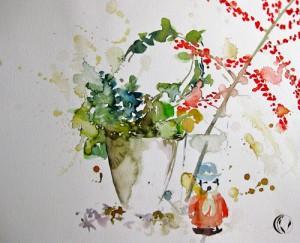 malen_am_meer_raeuchermaennchen_weihnachten_aquarell