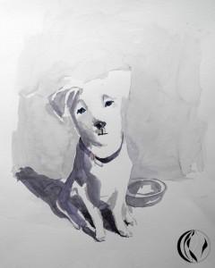 malen_am_meer_aquarell_hund