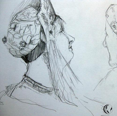 Trachten – Zeichnungen
