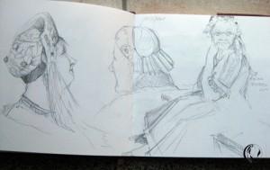 malen_am_meer_tracht_zeichnung_helgoland Kopie
