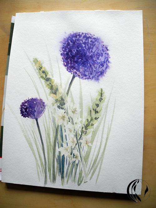 blumen malen bilder  my flowers