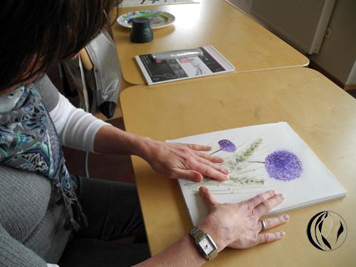 Sehen-Zeichnen-Malen auf Hooge – Aquarell