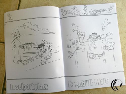 Malbuch von Dagebüll © – Zeichnungen – Malen am Meer®