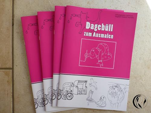 Malbuch von Dagebüll © – Zeichnungen
