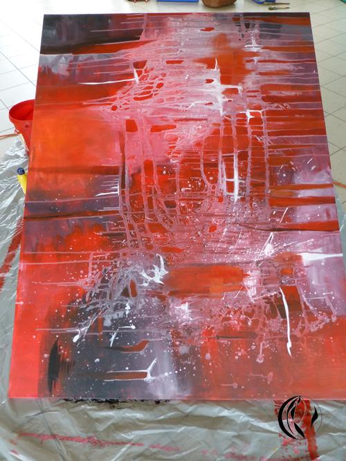 Privatunterricht abstraktes acrylmalen malen am meer - Acrylmalerei ideen ...