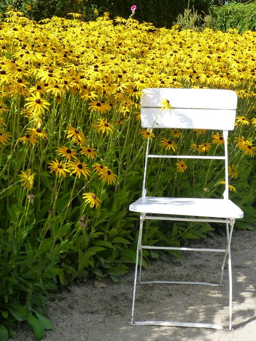 Im Garten von Emil Nolde.