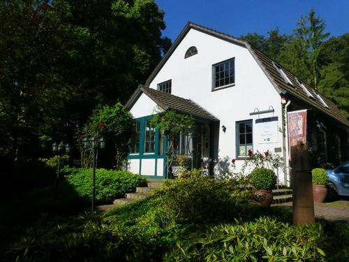 Unsere Unterkunft und das Atelier war bei dieser Malreise im Buchenhof.
