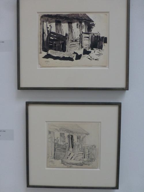 Bilder von der Fininger-Ausstellung.