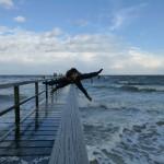 Bunte Bilder – wildes Wetter / Malkurs auf Föhr