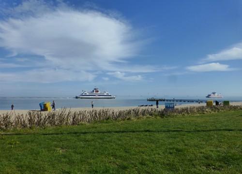 Himmel küßt Horizont – Malreise nach Föhr