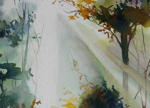 Gebrochen – überstanden / Kintsugi