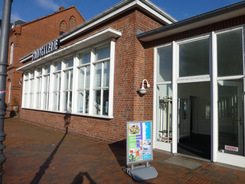 "Stadtgalerie in Westerland ""Alte Post""."