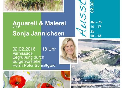Einzelausstellung auf Sylt in Westerland
