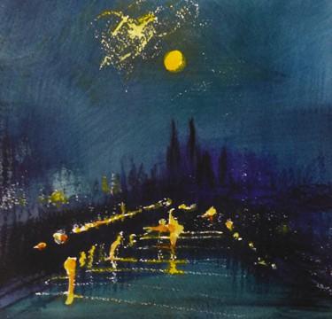 Donner und Blitz in der Nacht