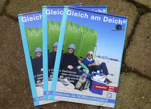 "Information in türkis – ""Gleich am Deich"" 2016"
