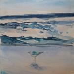 Wasser und Vogel