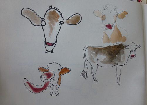 Zeichnen – Skribbeln – Plein air