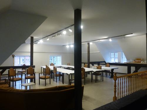 Das große, helle Atelier in Nieblum.