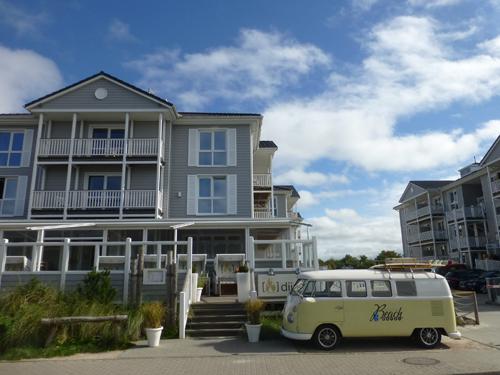 Das Beach Hotel in St. Peter Ording.