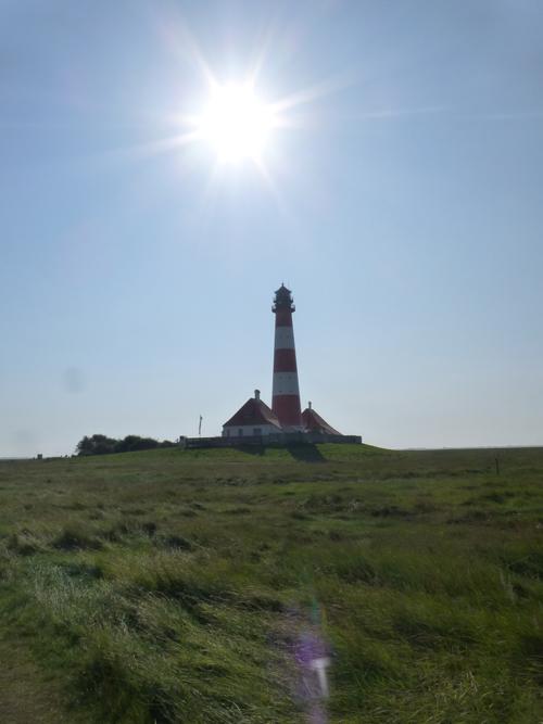 Ein MUSS, wenn man in Stankt Peter Ording ist: Der Besuch des berühmten Wester-Hever-Leuchtturms.