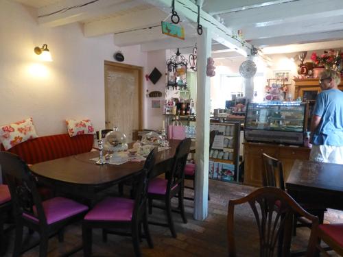 Das Cafe von innen.