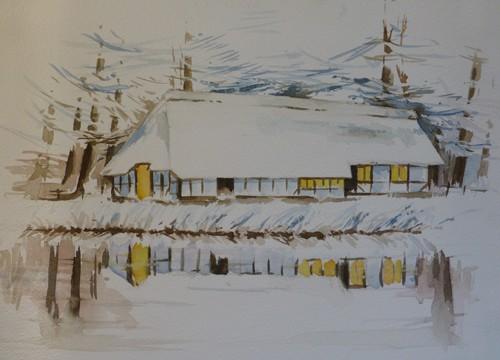 Türkis im Schnee
